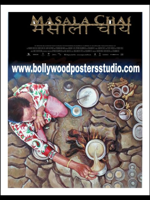 Create custom bollywood movie posters