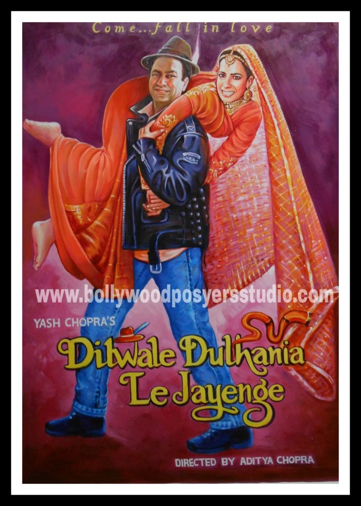 Customized Bollywood film poster