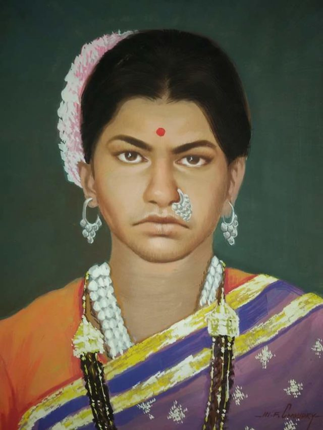 custom oil canvas portrait india