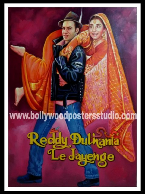Customized Bollywood wedding / shaadi posters