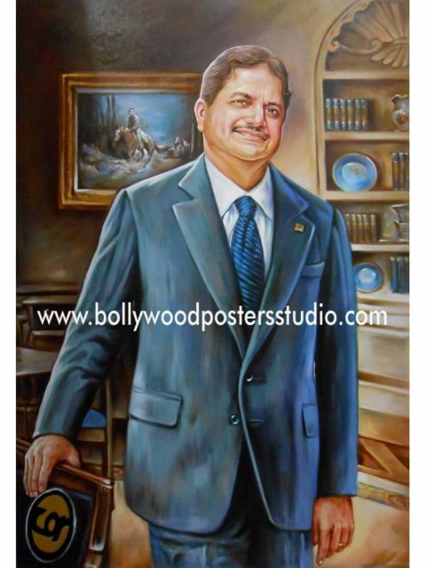Custom oil canvas portrait painting collection