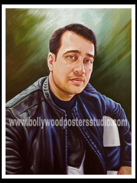 Portrait painting – art of colour, brush and canvas india