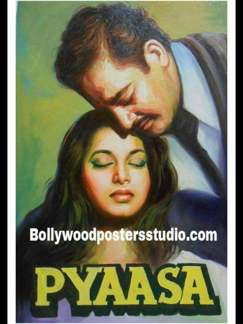 Vintage Bollywood movie posters for sale