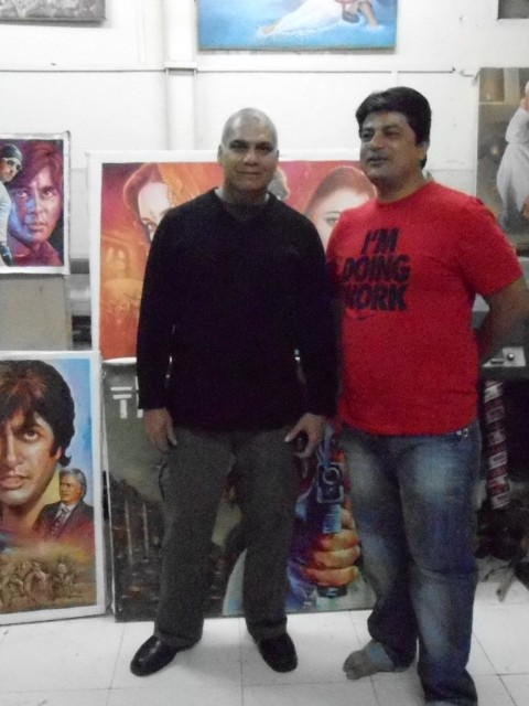 Vast hand painted bollywood art and vintage collectors from foreign country