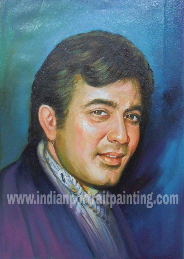 Memories with love portrait painting hand painted