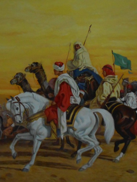 Arabic oil canvas paintings – Reproduction