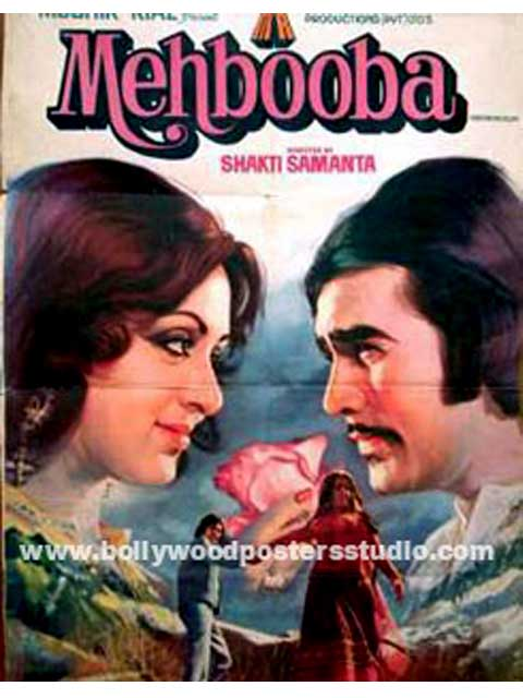 Hand painted bollywood movie posters Mehbooba