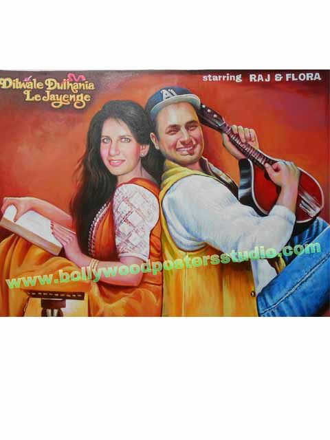 Best Bollywood poster painter