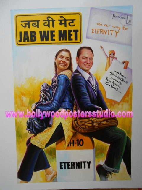 Custom Bollywood painter