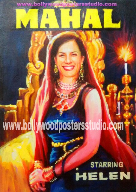 Be the movie star in customize bollywood movie poster