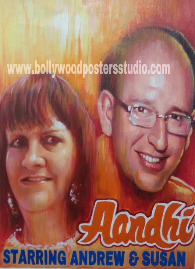 Bollywood movie posters painters online mumbai