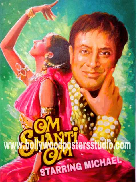 Custom bollywood posters for sale