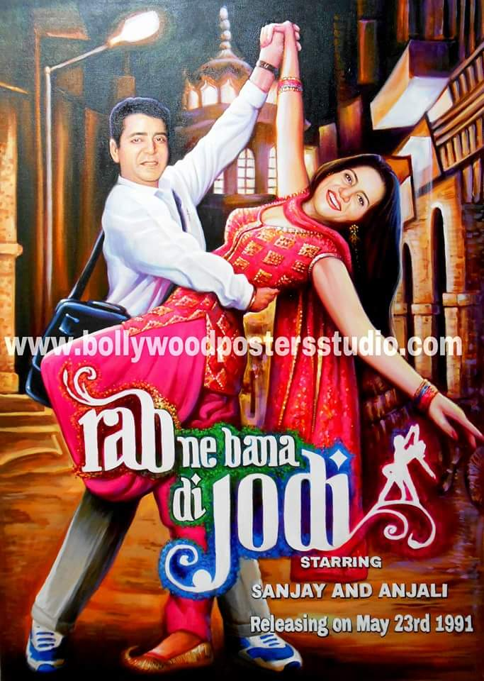 Wedding and Anniversary gifts with Love in bollywood style