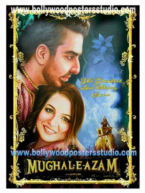 CUSTOM BOLLYWOOD MEHANDI, SANGEET AND MARRIAGE POSTER