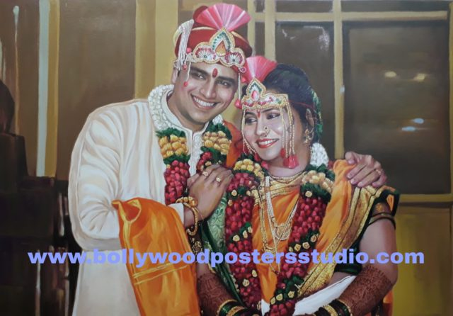 PORTRAITS - marriage / anniversary gifts mumbai online