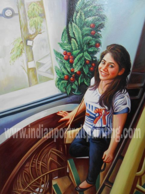 Indian portrait art for gifts