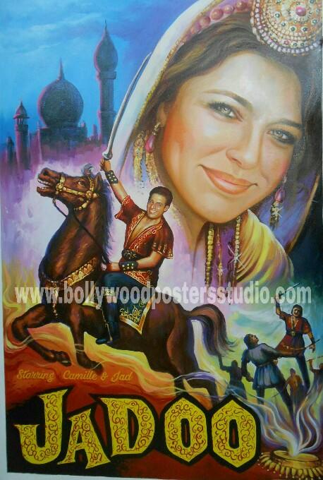 Custom bollywood poster online store