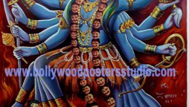 Maha kali original painting on oil canvas