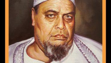 Portrait on oil canvas