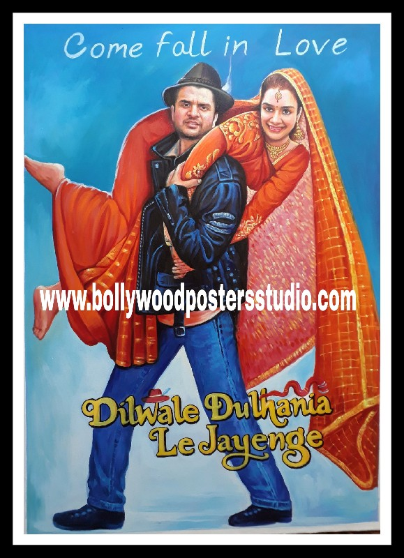 Online hand painted custom bollywood makers