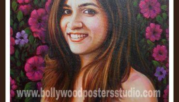 customized portraits handmade