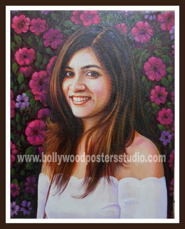 customized portraits handmade