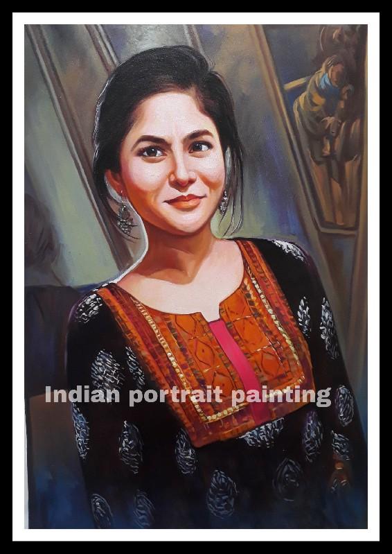 convert image to canvas portrait