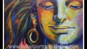 Canvas oil paintings artist – knife art abstract lord shiva