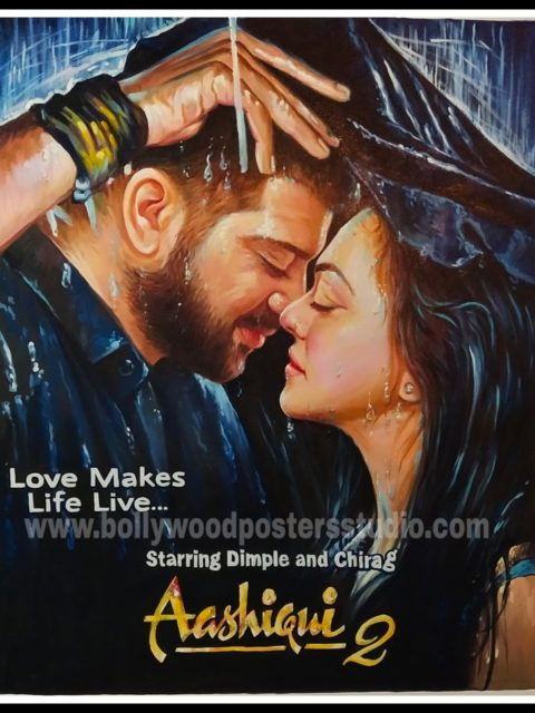 Custom made bollywood posters with my face