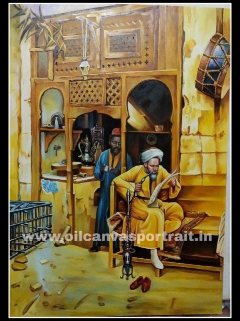 Oil paintings – egyptian fine art paintings
