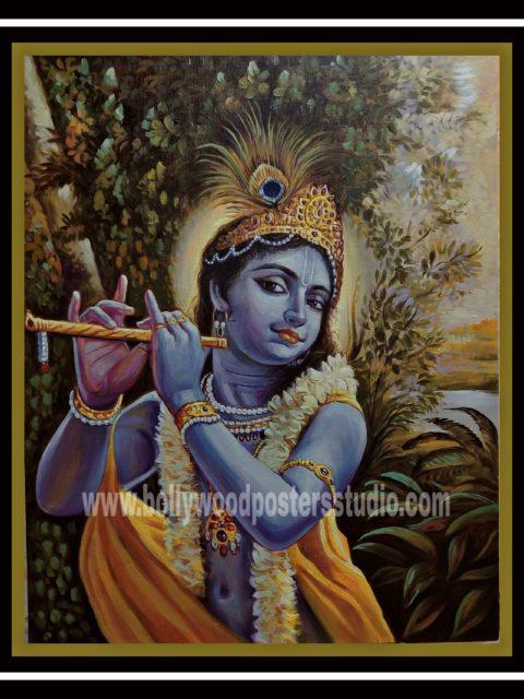 Original oil on canvas paintings – krishna