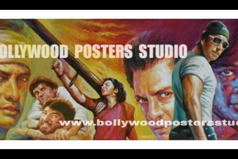 Best hand painting artist of Bollywood film poster