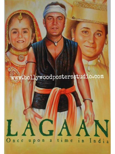 Handmade all time hit Bollywood poster