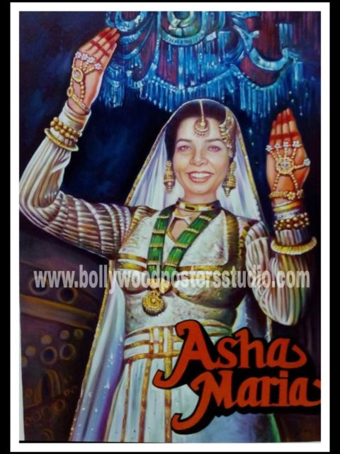 Customized Indian Bollywood posters
