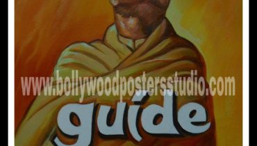 Hand painted Hindi movie posters