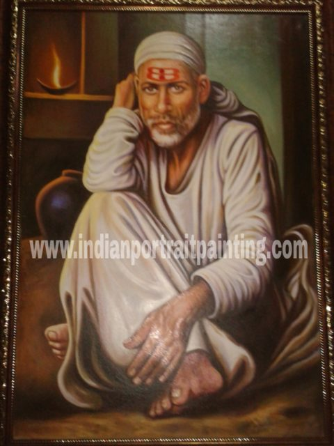 Hand painted best portrait artist India Mumbai