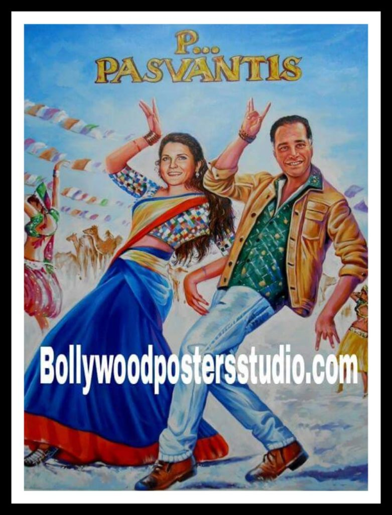 Make over with custom Bollywood movie poster