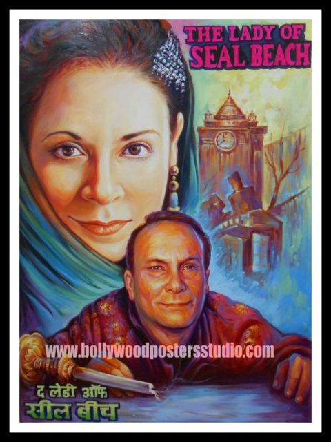 Old hindi film movie custom bollywood poster painters and artist