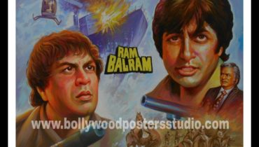 Vintage Bollywood posters