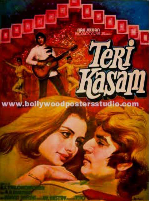 Teri kasam hand painted posters