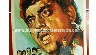 Choron ki baaraat hand painted posters