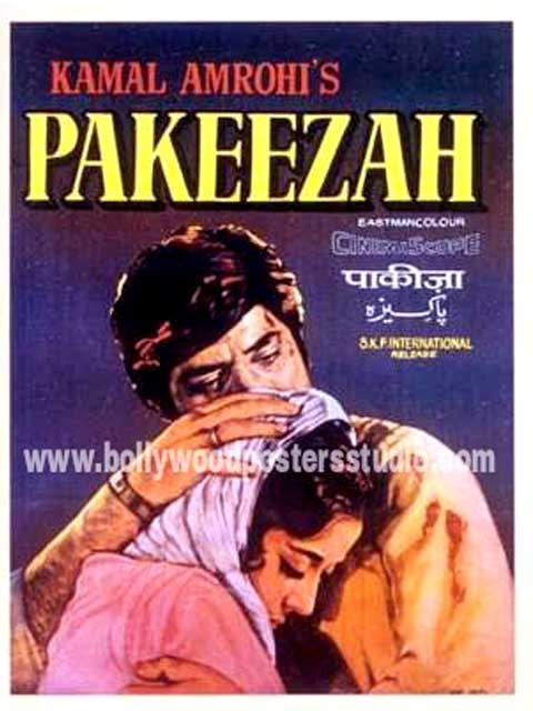 Pakeezah hand painted posters