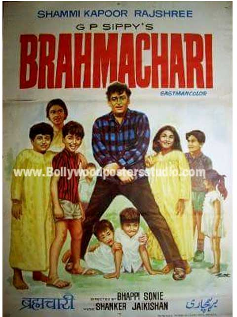 Hand painted bollywood movie posters Bharmachari