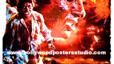 Hand painted bollywood movie posters Agneepath – Amitabh bachchan
