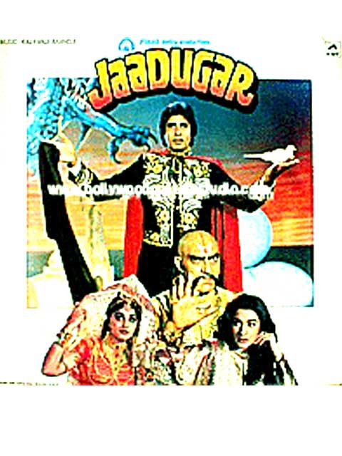 Hand painted bollywood movie posters Jaadugar – Amitabh bachchan