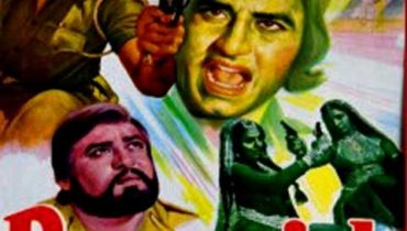 Hand painted bollywood movie posters Parvarish – Amitabh bachchan