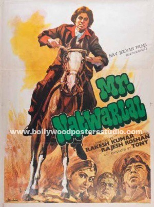 Mr. Natwarlal  hand painted posters – Amitabh bachchan