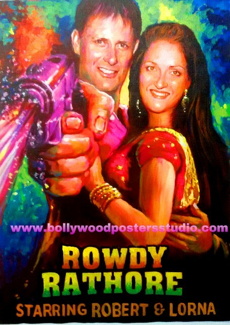 Custom  bollywood marriage cards and posters
