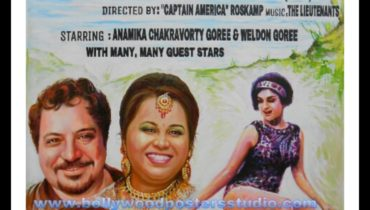 Editing personal image in customized Bollywood movie poster