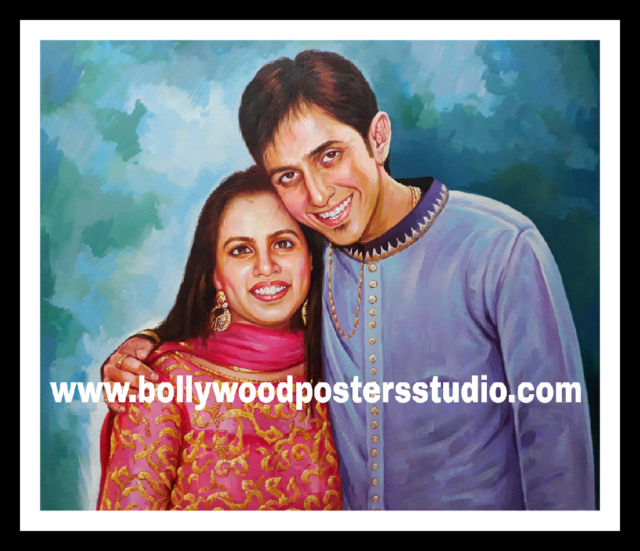 Famous Indian oil portrait artists